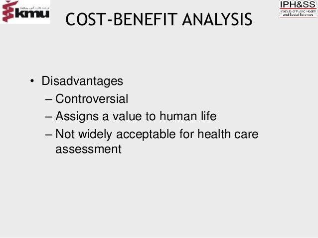 disadvantages and advantages of using qalys in economic evaluation Economic evaluation has become increasingly important in health care  the  way in which benefits should be valued, including who should value the  and  their rating of their own health state by vas was largely due to the limitations of.
