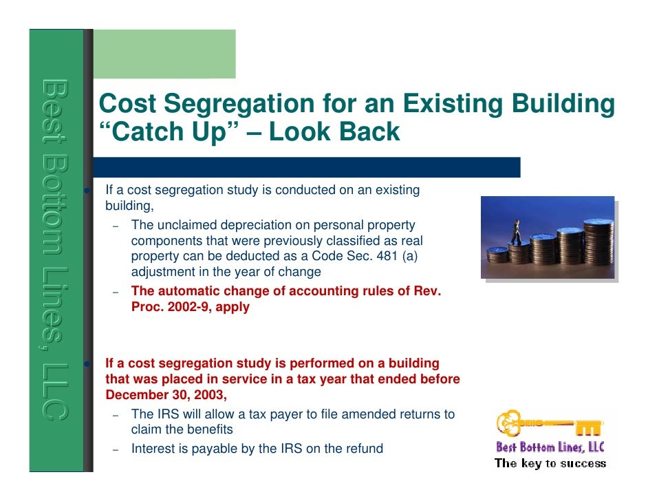 Cost Segregation Services - This is your money, Keep it.