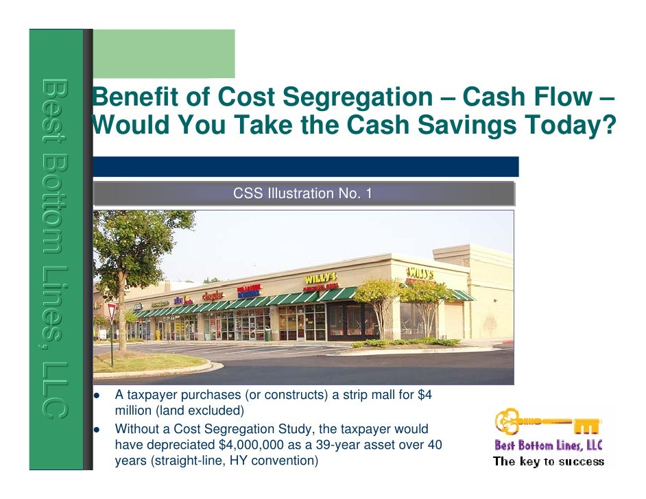 Current Issues in Cost Segregation | training seminar ...