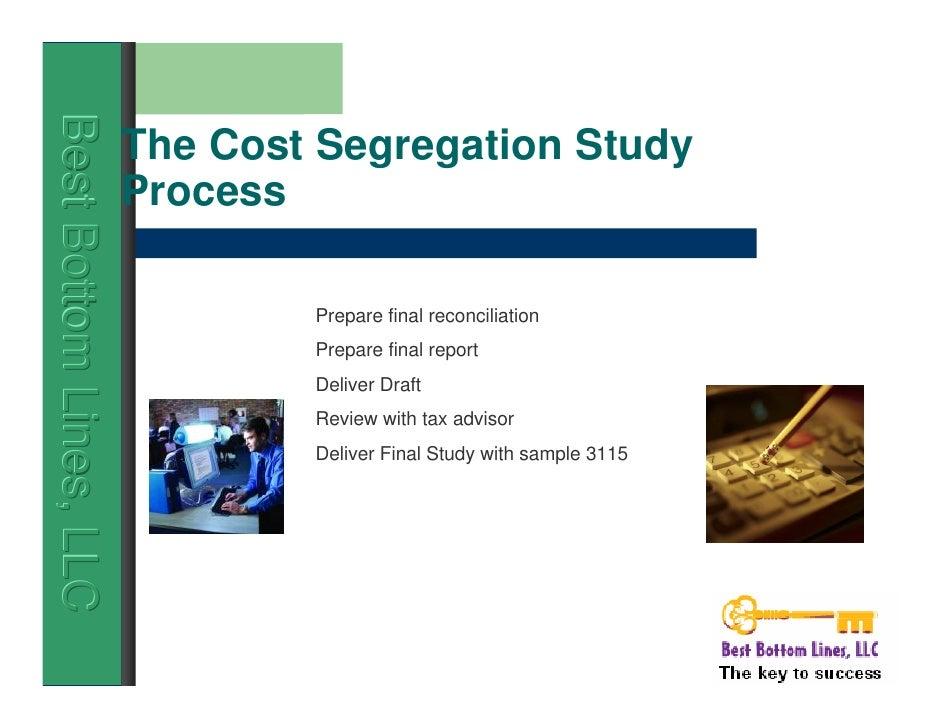 Cost Segregation Study $4,495 Nationwide Service ...