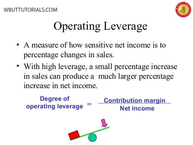 operating leverage example