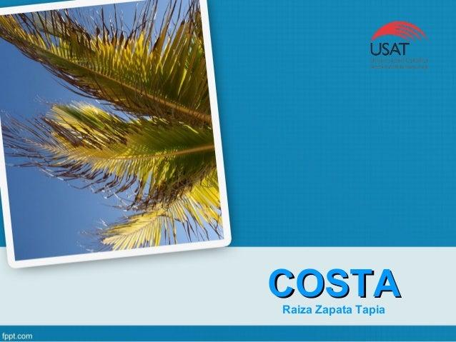 COSTACOSTARaiza Zapata Tapia