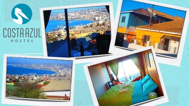 Costa Azul Hostel/Bed & Breakfast Valparaíso Presentation! Playa Ancha, Valparaíso, Chile