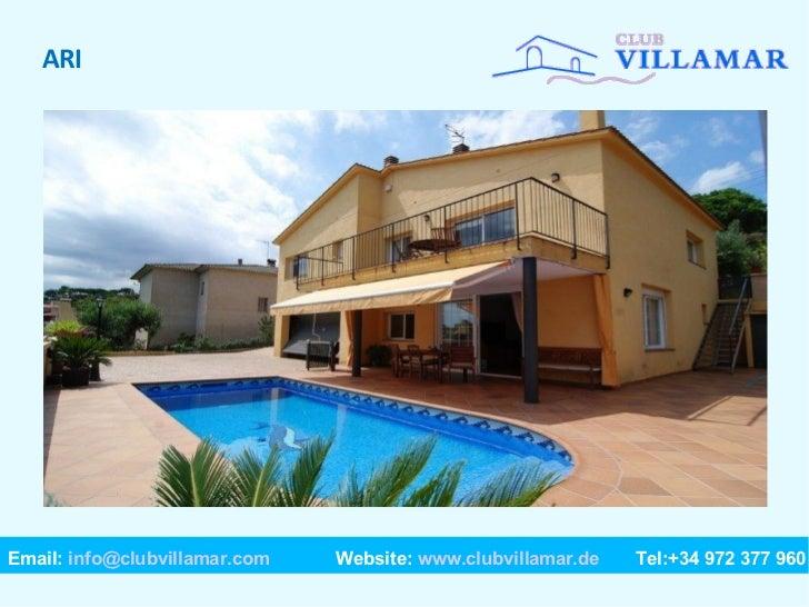 Costa brava ferienhaus suchen spanien villas for Club piscine granby 960 rue principale