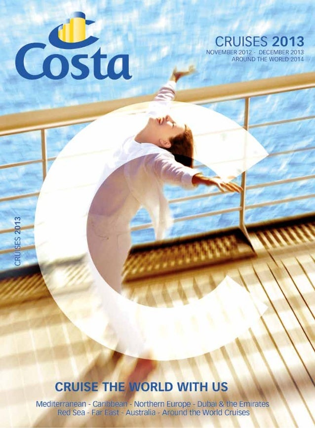 When you choose your cruise choose Costa.  Leave everything at home. Explore hidden gems.           Welcome a new view eve...