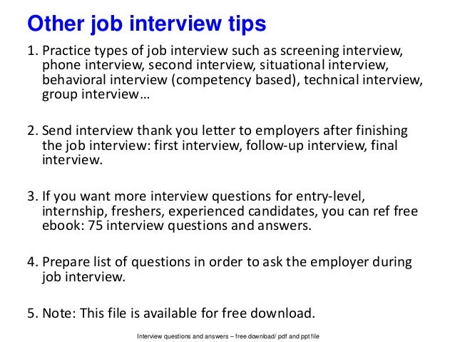 interview questions accountant