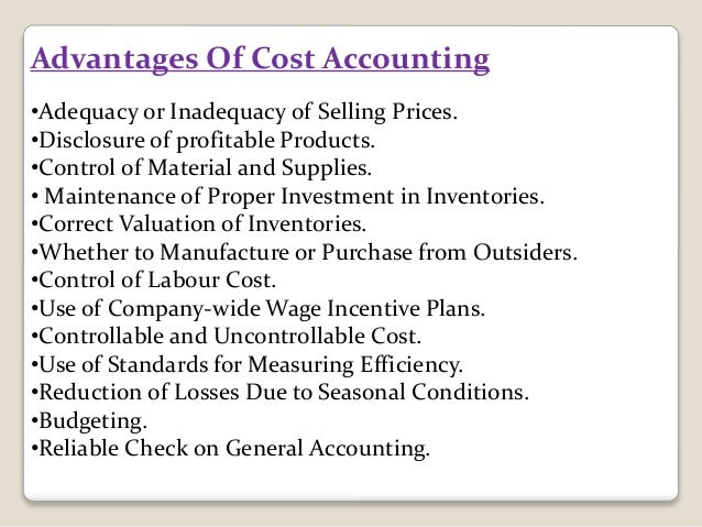The Disadvantage With Standard Costing Accounting Essay