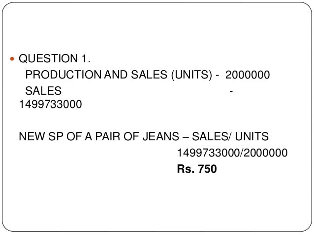 pepe jeans case study essay Levi strauss is the worlds best-known jeans brand levi strauss case study marketing essay print reference this published: 23rd march, 2015 disclaimer: this essay has been submitted by a student this is not an example of the work written by our professional essay writers.