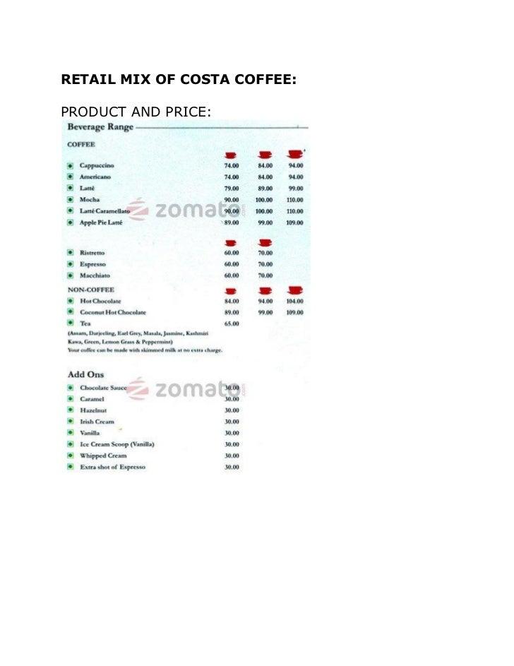 Costa Coffee Vs Ccd