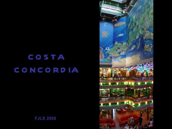 COSTA CONCORDIA FJLS 2008