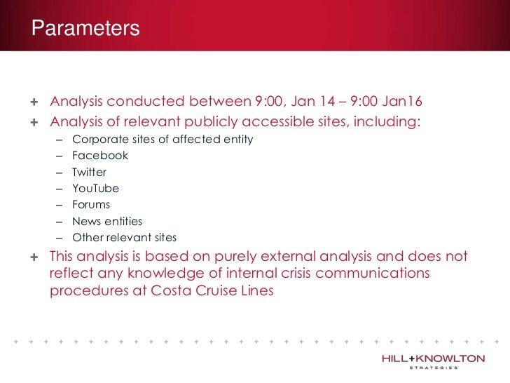 Crisis PR Analysis: Costa Cruises and the Costa Concordia tragedy