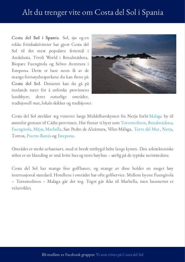 Costa Del Sol Guiden