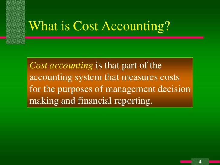cost accounting and cost management pdf