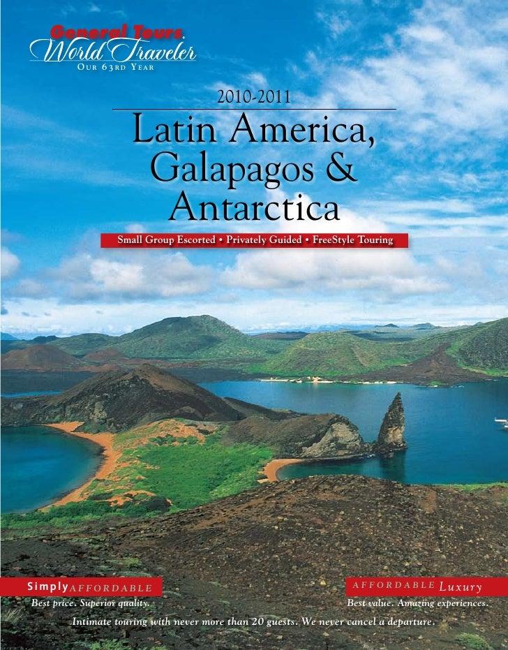 O UR 6 3 RD Y EAR                                            2010-2011                          Latin America,            ...