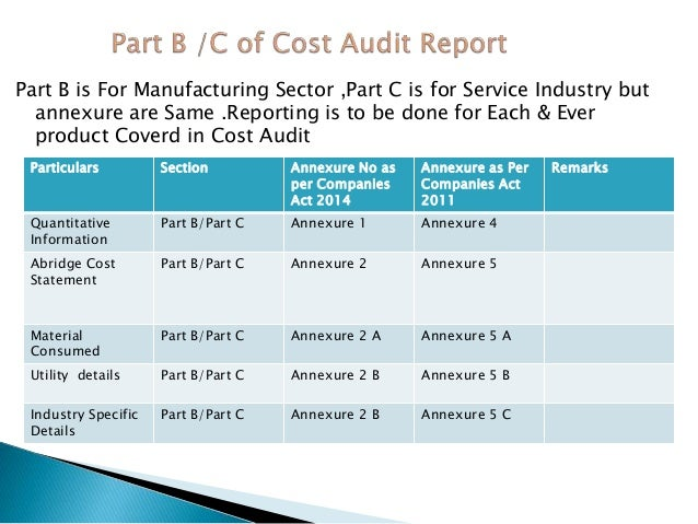 cost audit report A construction cost audit cover an analysis of the practices and measures applied or employed in project management and project cost/schedule controls.
