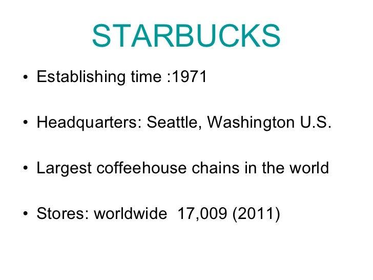 Starbucks VS Costa Coffee