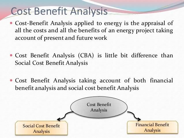 cost benefit analysis essay