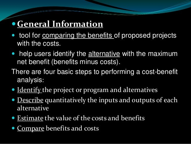 cost benefit analysis of inkwell ltd Cost benefit and risk analysis of the potential relocation of the apvma department of agriculture and water resources final report 1 august 2016.