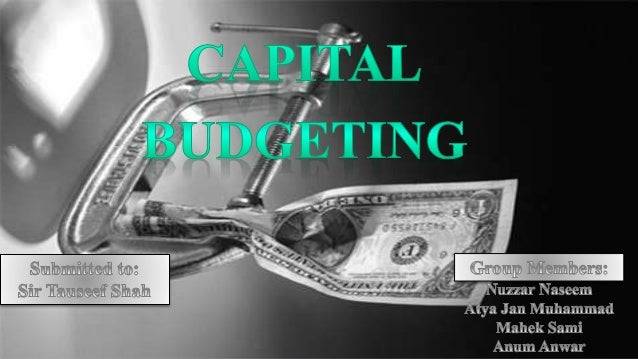 cost of capital capital budgeting and 2004-5-14 financial management • winter 2002 • pages 5 - 27 do we need capm for capital budgeting ravi jagannathan and iwan meier a key input to the capital budgeting process is the cost of capital.