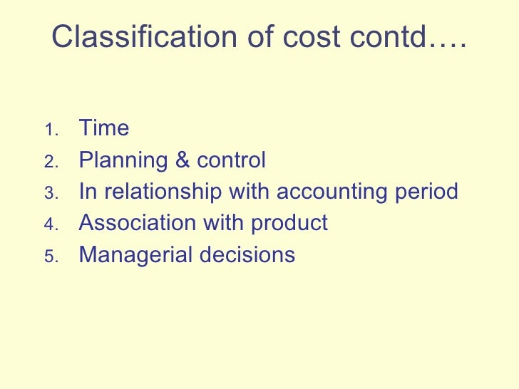 assignment2 cost classification pricing Cost and breakeven analysis  cost concept  cost classification  price elasticity of demand important here diferent pricing strategies can be.