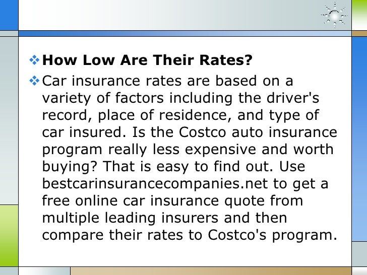 Costco Car Insurance Quote Alluring Costco Auto Insurance