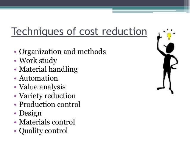 actions to reduce fixed costs Since provider margins are razor thin and fixed costs are very high there are two primary ways to reduce costs and improve quality much more.