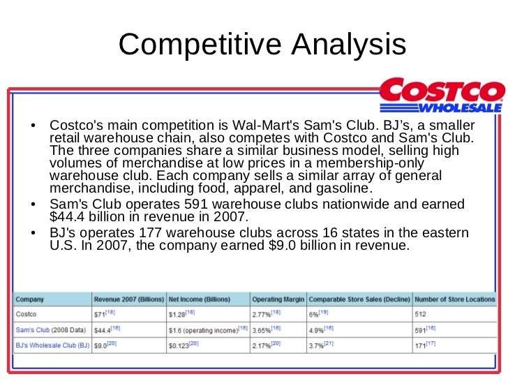 COST Company Financials