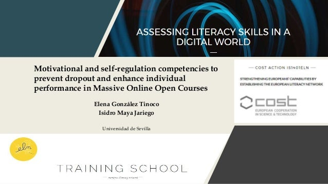Motivational and self-regulation competencies to prevent dropout and enhance individual performance in Massive Online Open...