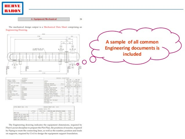HERVE BARON A sample of all common Engineering documents is included