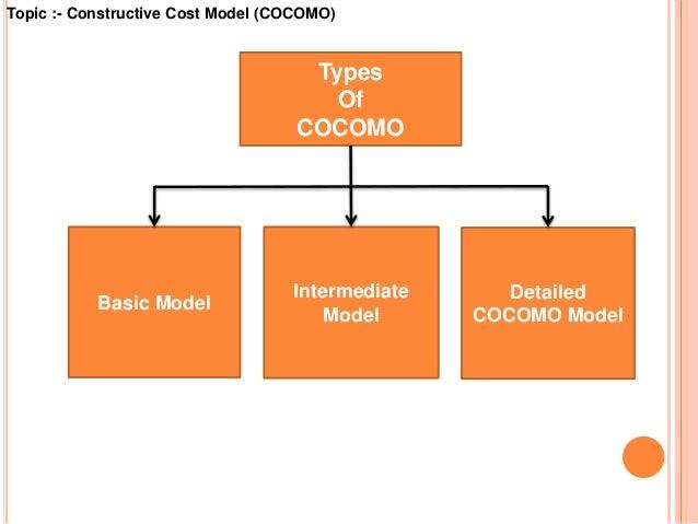 Cost estimation using cocomo model topic constructive cost model cocomo 3 ccuart Images