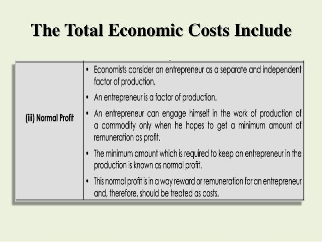 cost function in economics pdf