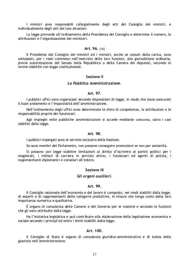 Costituzione della repubblica italiana for Senato della repubblica indirizzo