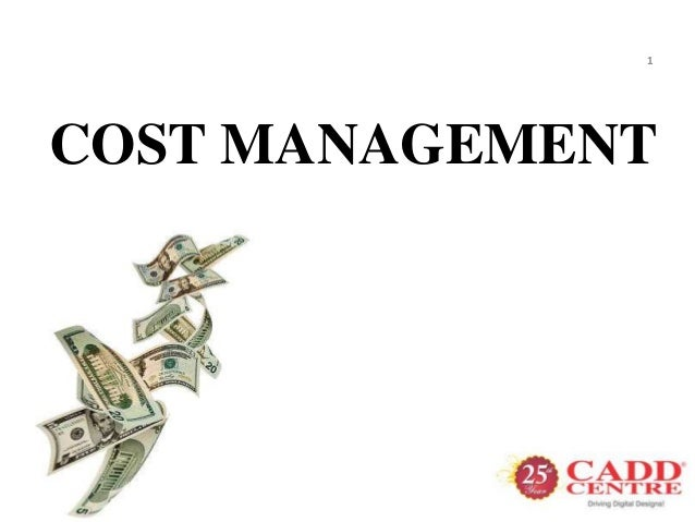 1COST MANAGEMENT