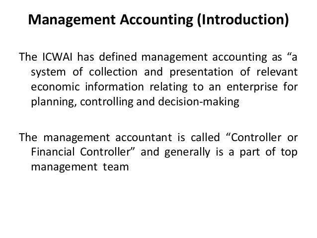 management accounting information system definition The international journal of accounting information systems will publish thoughtful, well developed articles that examine the rapidly evolving.