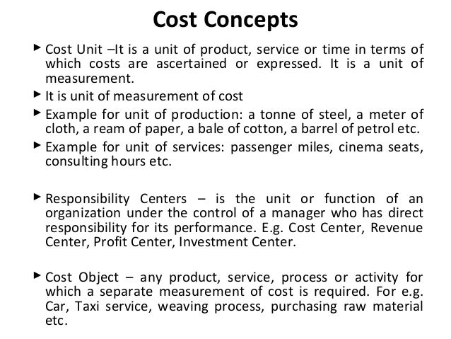 cost accounting terminologies purpose of cost Some terminologies related to cost 12 cost the use of valuable resources a  in order to achieve a stated purpose in accounting, cost is reported in monetary.