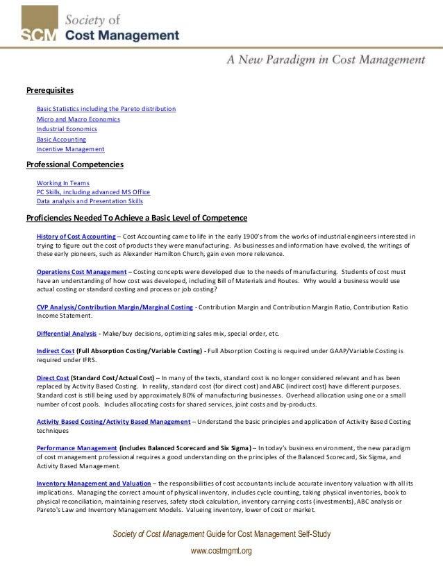 Self study business management