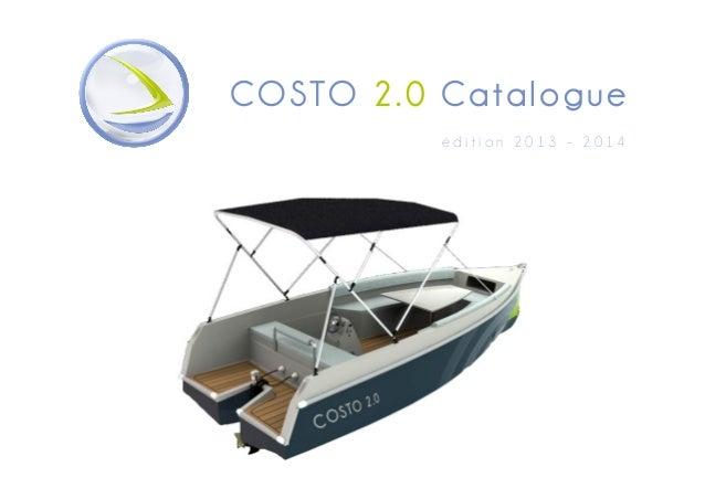 COSTO 2 . 0 Catalo gu e édition 2013 - 2014