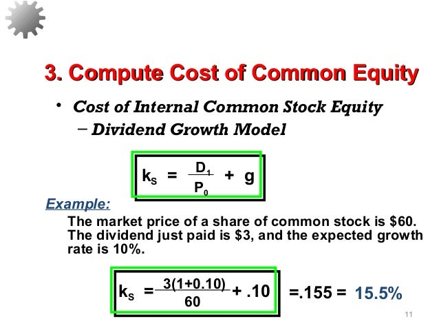Cost of Equity Definition
