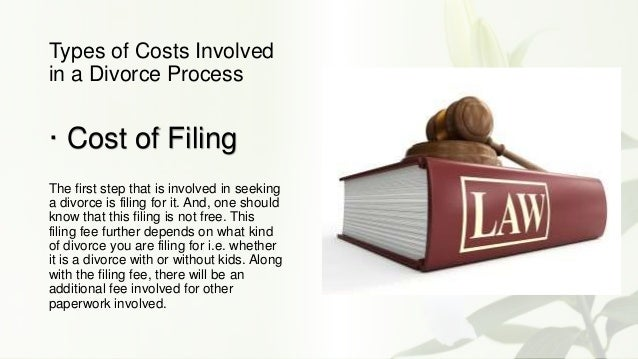 Cost to file for divorce in ontario