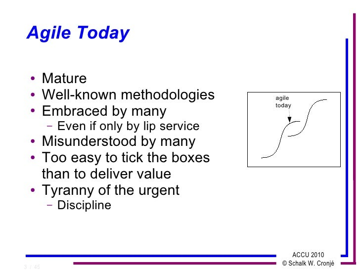 Costs Of Agile Testing