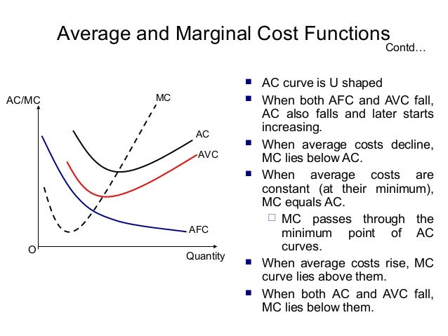 mathematical relationship between mc and ac