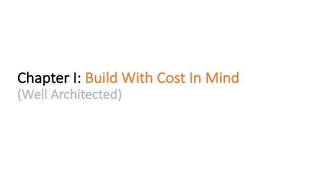 AWS Cost optimization at scale Slide 3