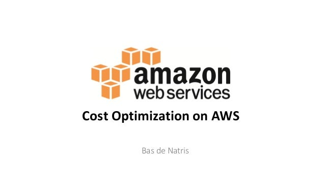 Bas de Natris Cost Optimization on AWS