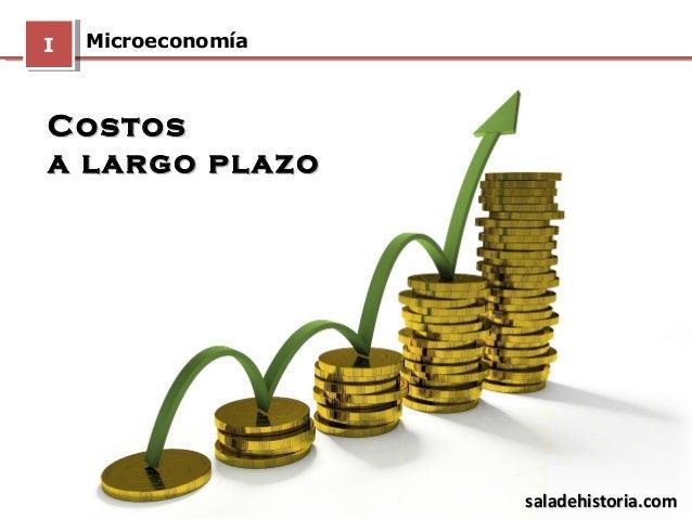 Los Costos A Largo Plazo MicroeconomaIICostosCostosa Plazoa Plazosaladehistoriasaladehistoria