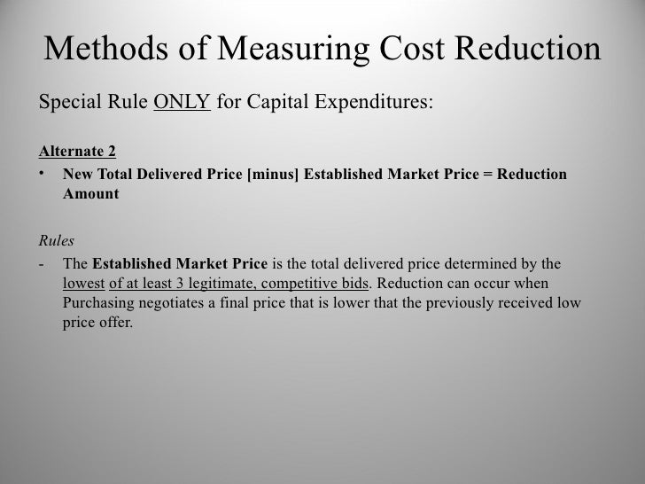 How to Do a Cost Reduction & Avoidance Spreadsheet
