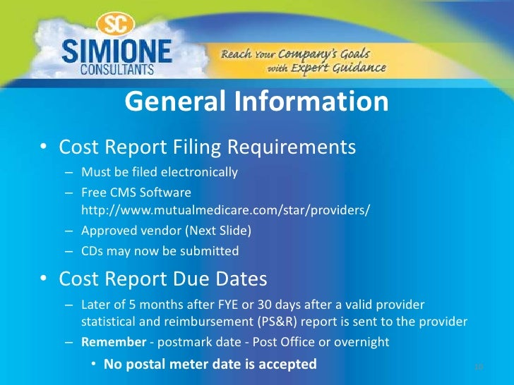 Simione Consultants The Medicare Hha Cost Report Lets Get It Right