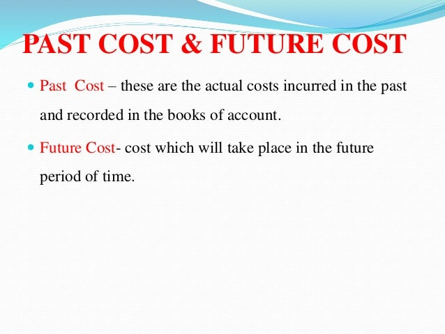 past cost