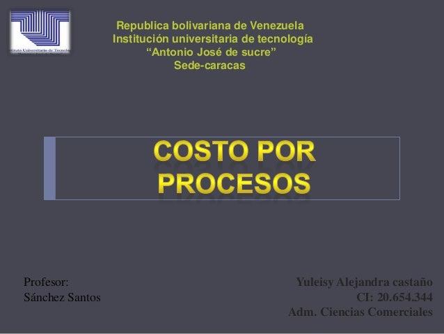 Yuleisy Alejandra castaño CI: 20.654.344 Adm. Ciencias Comerciales Republica bolivariana de Venezuela Institución universi...