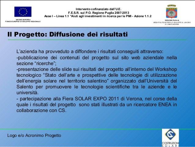 Costruzioni solari for Gettare i piani del workshop