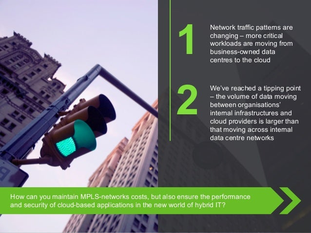 Copyright © 2015 Dimension Data How can you maintain MPLS-networks costs, but also ensure the performance and security of ...